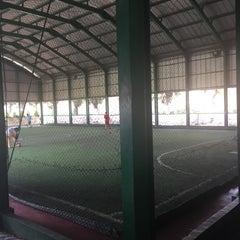 Photo taken at Velodrome Rawamangun by Kamelia M. on 4/9/2016