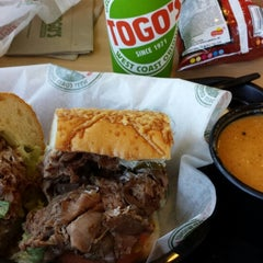 Photo taken at TOGO'S Sandwiches by Christopher S. on 10/16/2014