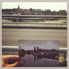 Photo taken at Groeningebrug by Jurgen D. on 7/11/2013