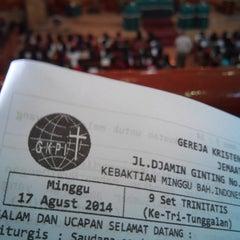Photo taken at GKPI Pamen by Rosima S. on 8/17/2014