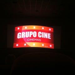 Photo taken at Grupo Cine by Cesar B. on 12/8/2012