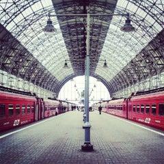 Photo taken at Киевский вокзал / Kievsky Rail Terminal by Alex R. on 10/12/2012
