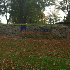 Photo taken at SUNY New Paltz by R. C. on 10/13/2012