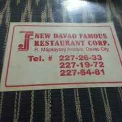 Photo taken at Davao Famous Restaurant by Hansoi D. on 1/27/2013