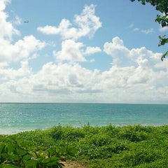 Photo taken at หาดในยาง (Nai Yang Beach) by Patrickpol N. on 6/8/2013