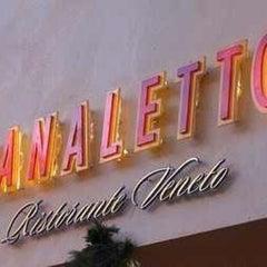 Photo taken at Canaletto Ristorante Veneto Newport Beach by David T. on 10/2/2012