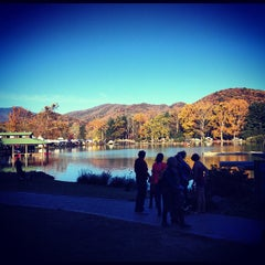 Photo taken at Lake Eden by Nathan S. on 10/21/2012