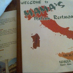 Photo taken at Mama's Italian Restaurant by Ryan N. on 3/19/2013