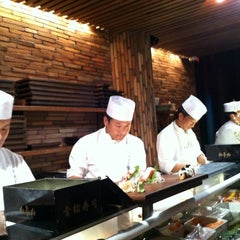 Photo taken at Blue Ribbon Sushi Izakaya by Scott P. on 9/22/2012