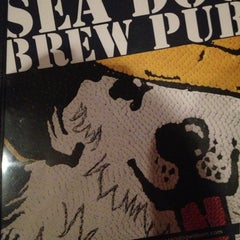 Photo taken at Sea Dog Brew Pub by Tom B. on 12/12/2012