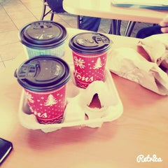 Photo taken at Tim Hortons by Ala S. on 12/4/2014