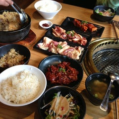 Photo taken at Gyu-Kaku Japanese BBQ by Joie P. on 1/19/2013