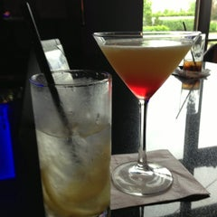 Photo taken at YOLO Restaurant + Lounge by Terri K. on 5/23/2013