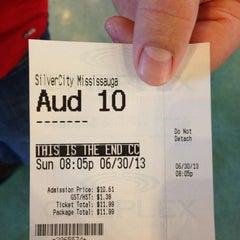 Photo taken at SilverCity Mississauga Cinemas by Karen L. on 6/30/2013