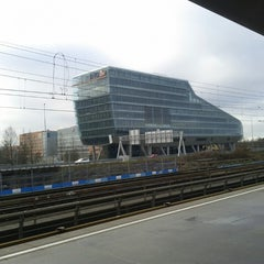 Photo taken at Metrostation Amstelveenseweg by Fabian on 12/14/2013
