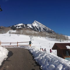 Photo taken at Crested Butte Mountain Resort by Tom S. on 3/10/2013