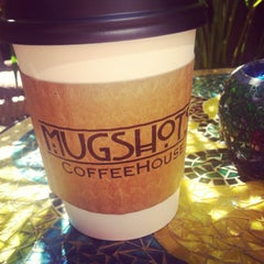 Photo taken at Mugshots Coffeehouse by Sherry K. on 7/13/2013