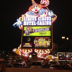 Photo taken at Circus Circus Hotel & Casino by Joshua A. on 7/28/2013