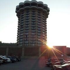 Photo taken at Radisson Hotel Cincinnati Riverfront by mathew l. on 8/30/2013