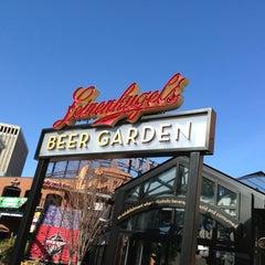 Photo taken at Leinenkugel's Beer Garden by Matthew B. on 3/9/2013