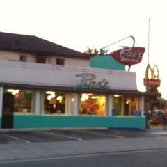 Photo taken at Rae's Diner by Dina B. on 9/14/2012
