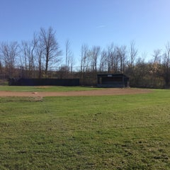 Photo taken at Duanesburg Little League by Stephanie M. on 5/4/2013