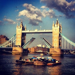 Photo taken at Tower Bridge by Katerina A. on 7/8/2013