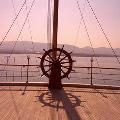 Photo taken at Ναυτικός Όμιλος Ελλάδος (Yacht Club of Greece) by Evangelos T. on 7/16/2013