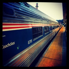 Photo taken at Yonkers Train Station - Metro North & Amtrak by Manny G. on 8/30/2014