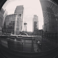 Photo taken at Canary Wharf by Philip L. on 1/26/2013