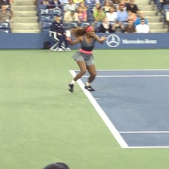 Foto tomada en Arthur Ashe Stadium - USTA Billie Jean King National Tennis Center  por Sam O. el 8/31/2013