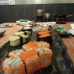 Photo taken at Kazu Sushi by Kinki T. on 8/18/2013