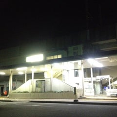 Photo taken at 石橋駅 (Ishibashi Sta.) by Koji A. on 9/28/2012