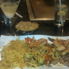 Photo taken at Wasabi Japanese Steakhouse by Nicole B. on 11/16/2012