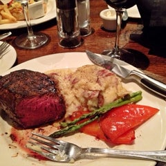 Photo taken at The Keg Steakhouse + Bar - Keg Mansion by Howard on 10/2/2012