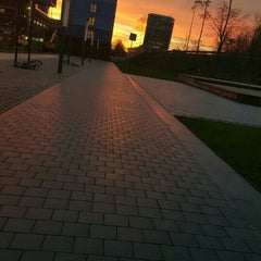 Photo taken at Metrostation Amstelveenseweg by Lisanne Z. on 12/1/2015
