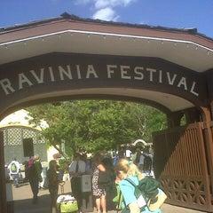 Photo taken at Ravinia Festival by Travis M. on 8/1/2013