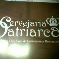 Photo taken at Cervejaria Patriarca by Sandra G. on 10/14/2012