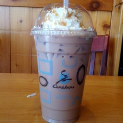 Photo taken at Caribou Coffee by Kim M. on 7/26/2013