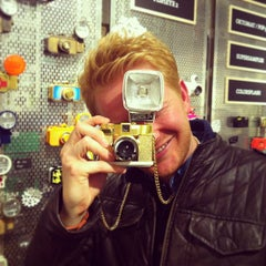 Photo taken at Lomography Gallery Store by Wouter V. on 12/27/2012