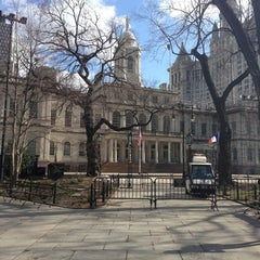 Photo taken at New York City Hall by Itai N. on 3/20/2013