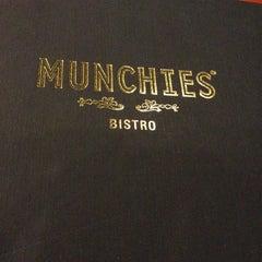 Photo taken at MUNCHIES Restaurant & Bar by joanne t. on 2/17/2013