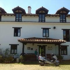 Photo taken at Posada Rural La Charola by Rodolfo d. on 6/15/2014