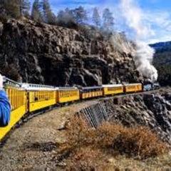 Photo taken at Durango & Silverton Narrow Gauge Railroad Co. by Tim J. on 8/25/2015