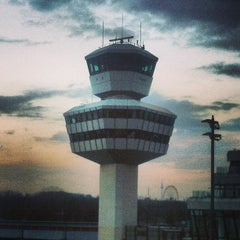 Photo taken at Berlin-Tegel Airport Otto Lilienthal (TXL) by Michael K. on 4/11/2013