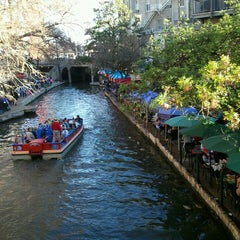 Photo taken at The San Antonio River Walk by Loyda O. on 3/10/2013