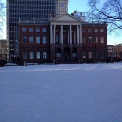 Photo taken at Connecticut's Old State House by Anissa L. on 3/6/2014