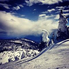 Photo taken at Whitefish Mountain Resort by Benjamin G. on 3/30/2013