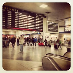 Photo taken at New York Penn Station by C M. on 3/29/2013