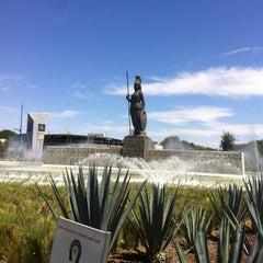 Photo taken at Glorieta Fuente La Minerva by Jorge V. on 3/17/2013
